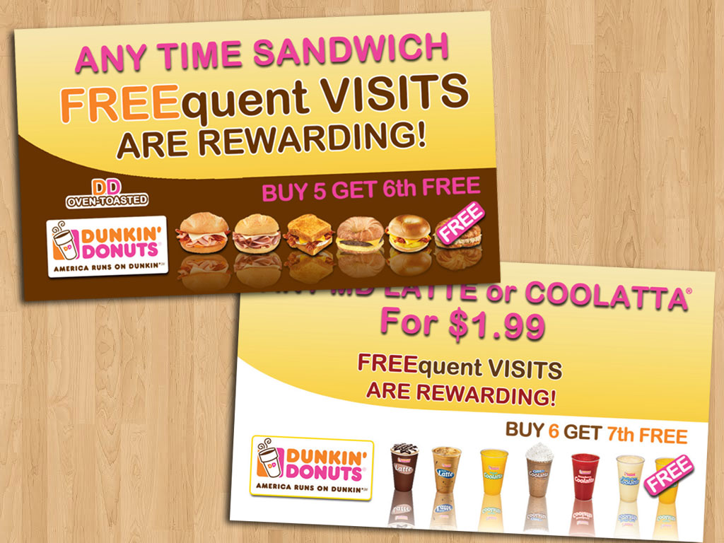 Dunkin Donuts - Graphic Design, Print and Web Services in ...
