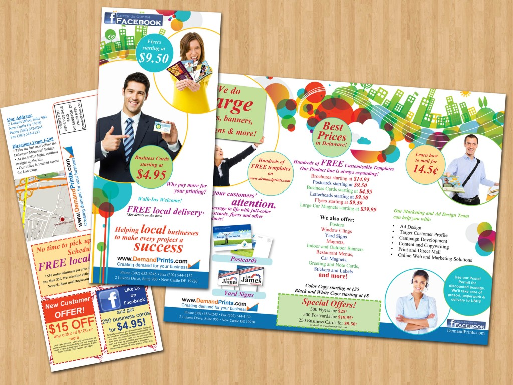 Brochure for print company graphic design print and web for Brochure for web design company