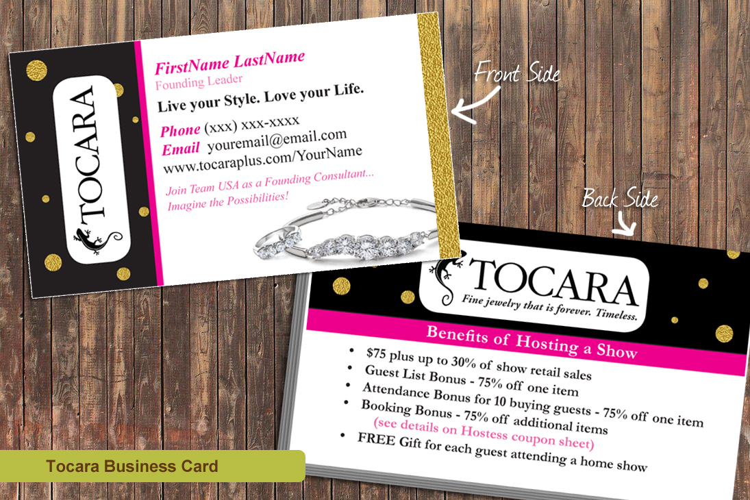 Marketing Materials for Tocara Business Owners Graphic Design, Print ...