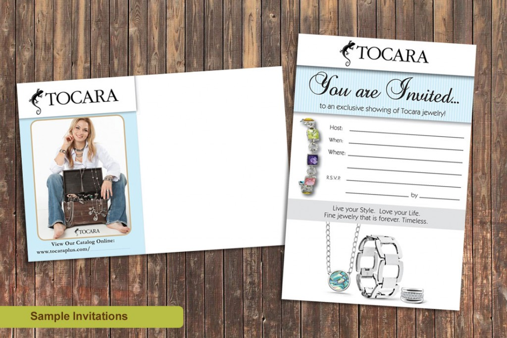 Marketing Materials for Tocara Business Owners-invitations