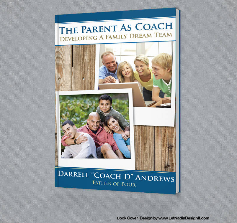 Book Cover Design Service : Book cover design for quot the parent as coach graphic