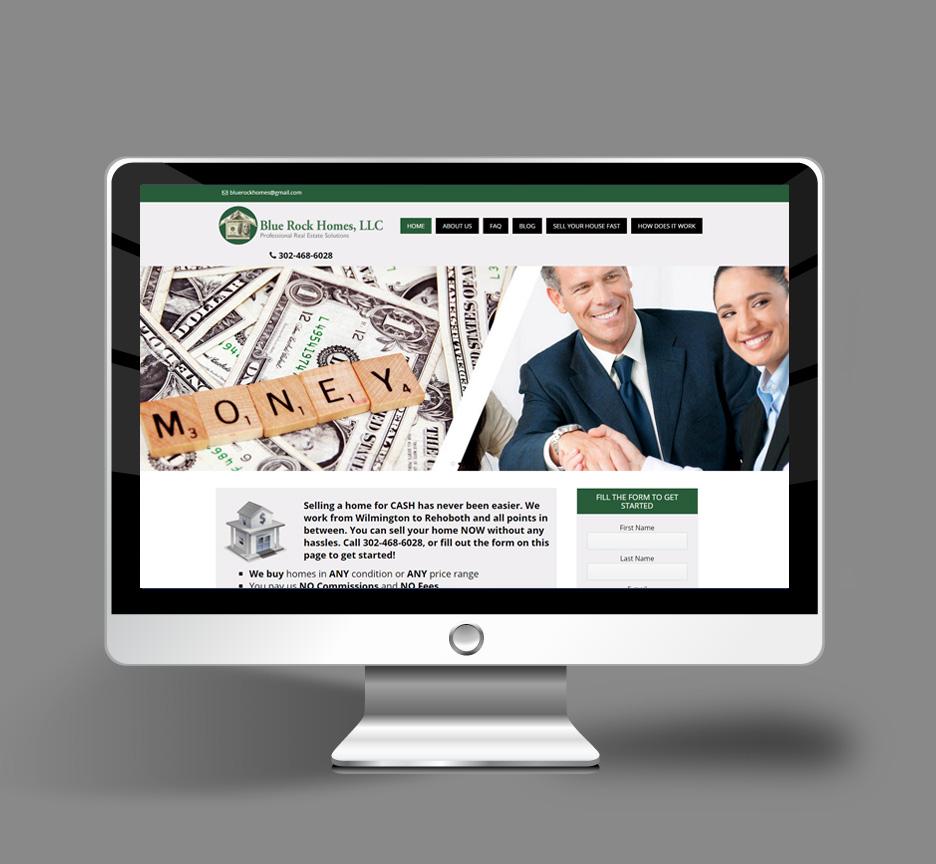 Word-press-website-design-for-real-estate-investor-delaware