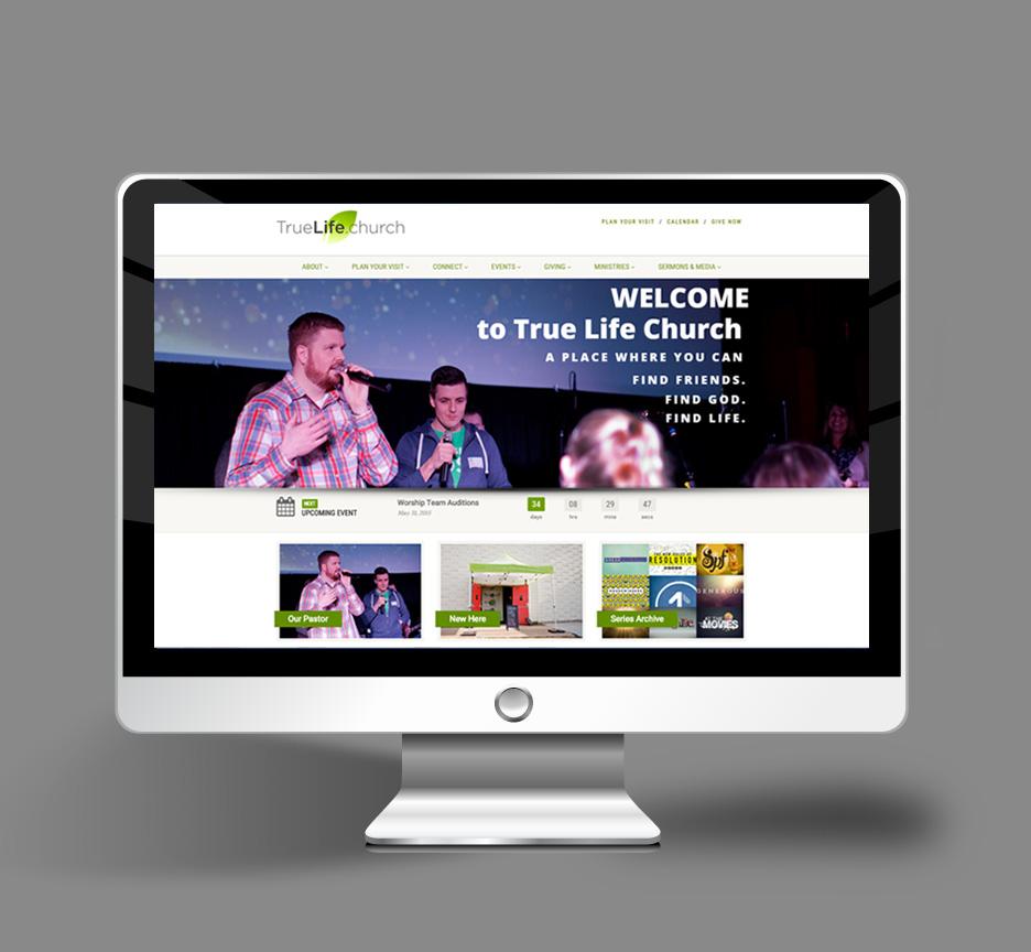 WordPress site for Church in Delaware